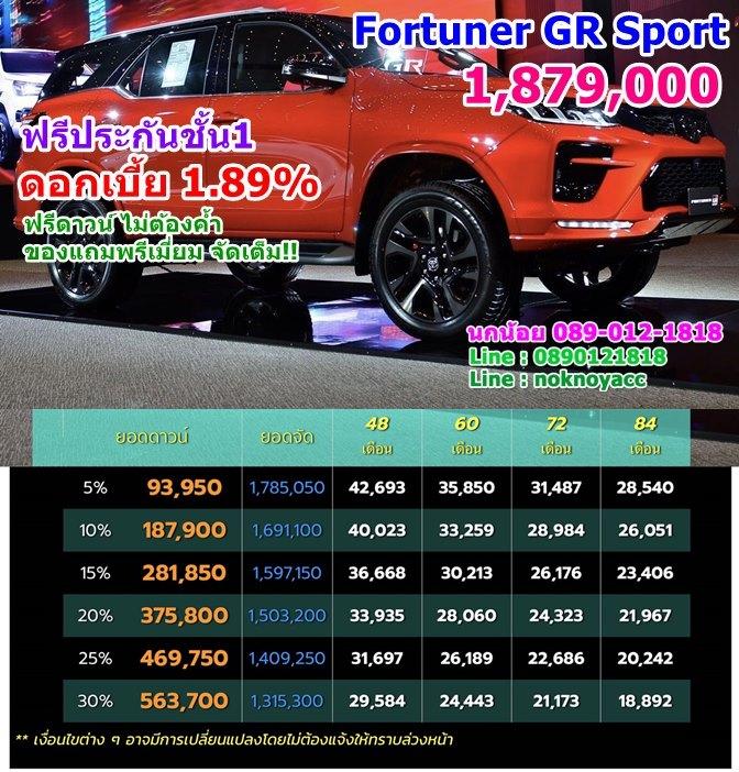 Fortuner GR Sport 2021